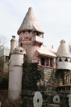 abandoned fairytale theme park