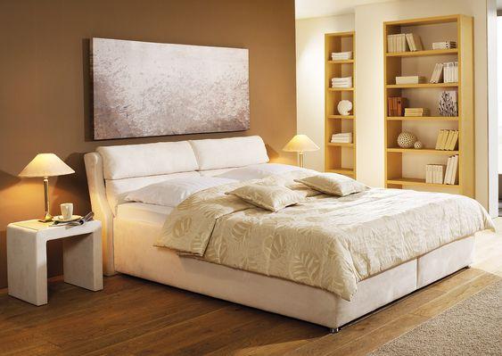 Bett  - schlafzimmer mit boxspringbetten schlafkultur und schlafkomfort