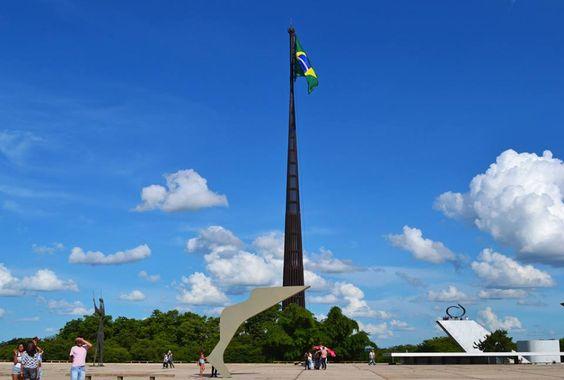 Brasília (DF) - Bandiera del Brasile  Foto: Márcia Procopio www.italianobrasileiro.com