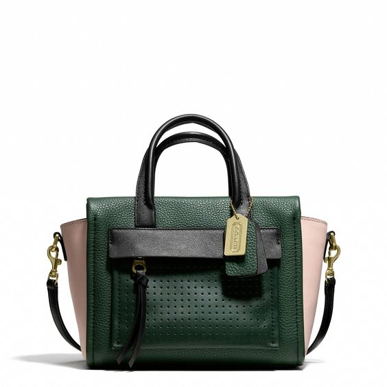 celine online shop usa - Coach :: BLEECKER MINI RILEY CARYALL IN MIXED MEDIA LEATHER. So ...