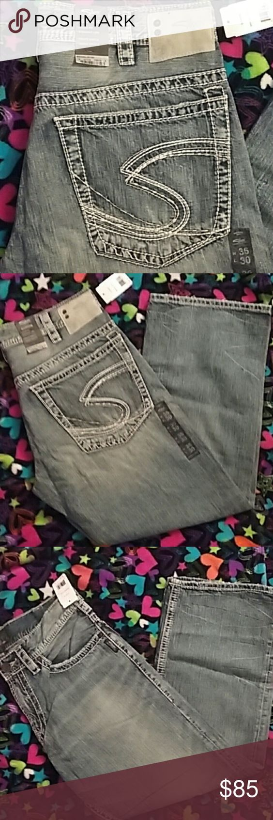 NWT men's Silver jeans 36/30 NWT