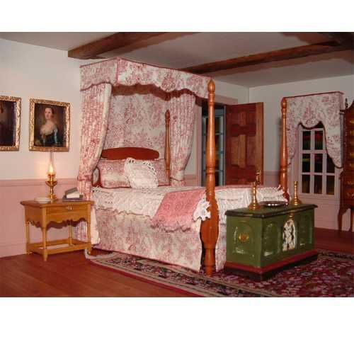 This Chippendale Style Bed Canopy Is A Perfect Embellishment To
