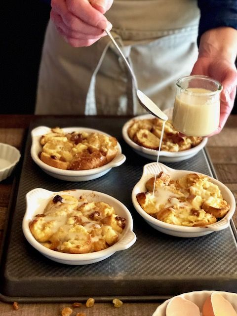 Italian Bread Pudding With Vanilla Sauce Keeping It Simple Blog Recipe Bread Pudding Bread Pudding Vanilla Sauce Vanilla Sauce