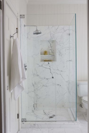 Full Slab Marble Shower. Just Want Something EASY To Clean (not Tile With  Grout) | Thereu0027s No Place Like Home | Pinterest | Marble Showers, ...