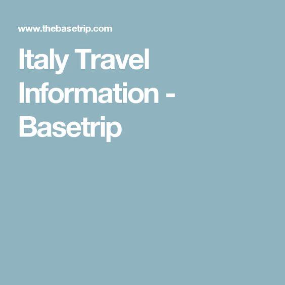 Italy Travel Information - Basetrip