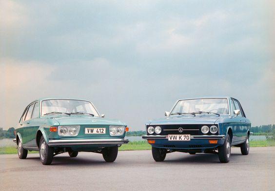 Volkswagen 412 et K 70 - 1972