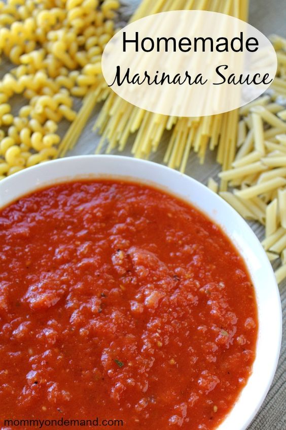 Homemade marinara sauce recipe homemade easy marinara - Olive garden marinara sauce recipe ...