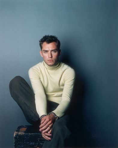 Jude Law styled by Marcus Teo