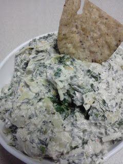 Easy Peasy Spinach and Artichoke Dip!! So good!!!   #mushroomforlearning