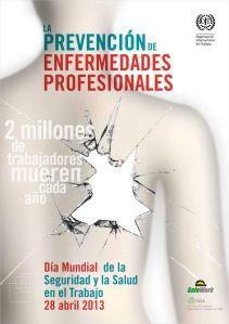 28th of April - Day of Safety and Health at Work - DÍA MUNDIAL DE LA SEGURIDAD Y SALUD EN EL TRABAJO. Go to www.healthaware.org for link to more information.