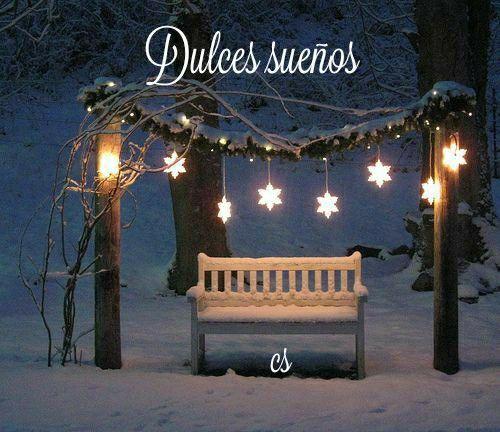 Pin De Michel En Buenas Noches Luces De Navidad Navidad Noche