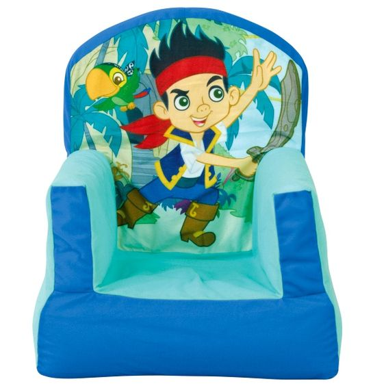 jake and the neverland pirates upholstered chair 2