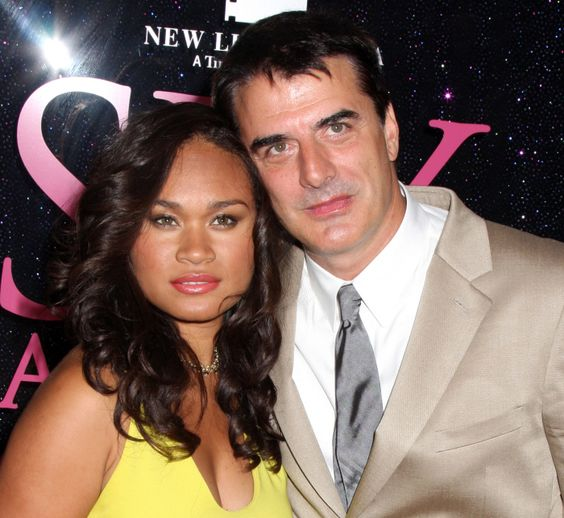 Mr Big Chris Noth and his lovely wife Tara Lynn Wilson