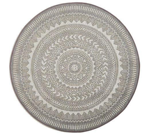 Outdoorteppich Grau Mandala Teppich Teppich Gewobener Teppich