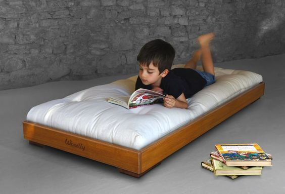"""""""Puro"""" Montessori floor bed #montessori - #TODesign #interiordesign - via Nicole Robb Interiors - http://ift.tt/1Rl53rU interiordesign"""