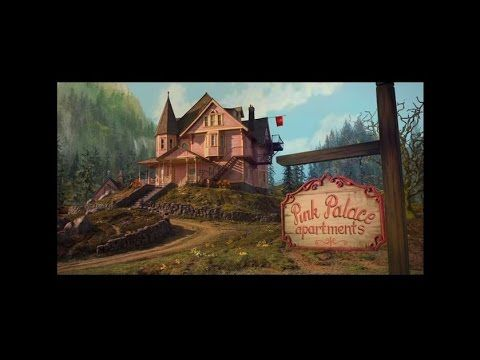 Exploring The Pink Palace Apartments From Coraline 2009 Youtube Coraline Cat Gif Pink Palace