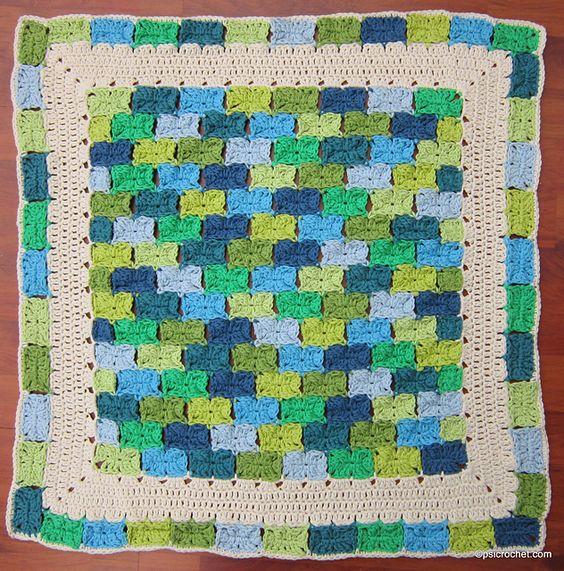 Ravelry: Bricks pattern by P.S. I crochet