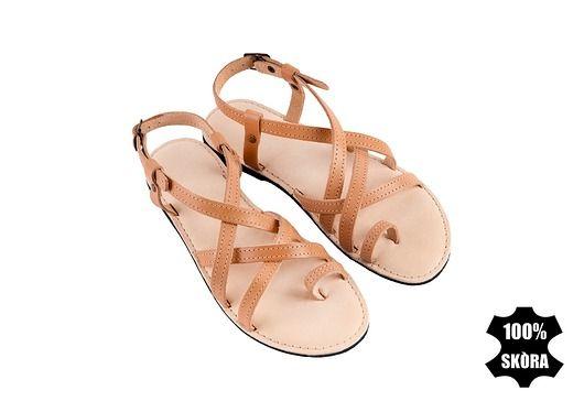 Greckie Sandalki Ze Skory Naturalnej Hand Made Pakamera Pl Shoes Sandals Fashion