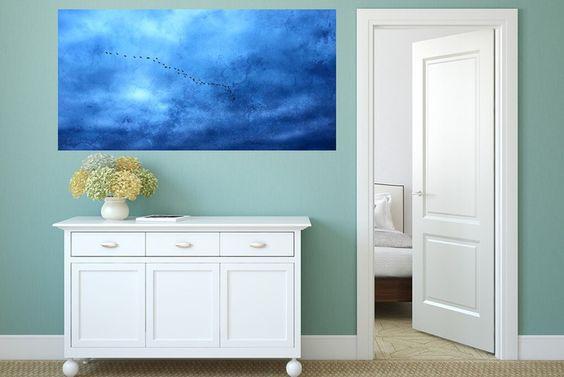 """Drucke auf Leinwand - Leinwand """"Asides""""  100 x 50 cm - ein Designerstück von Heavensblue4711 bei DaWanda"""