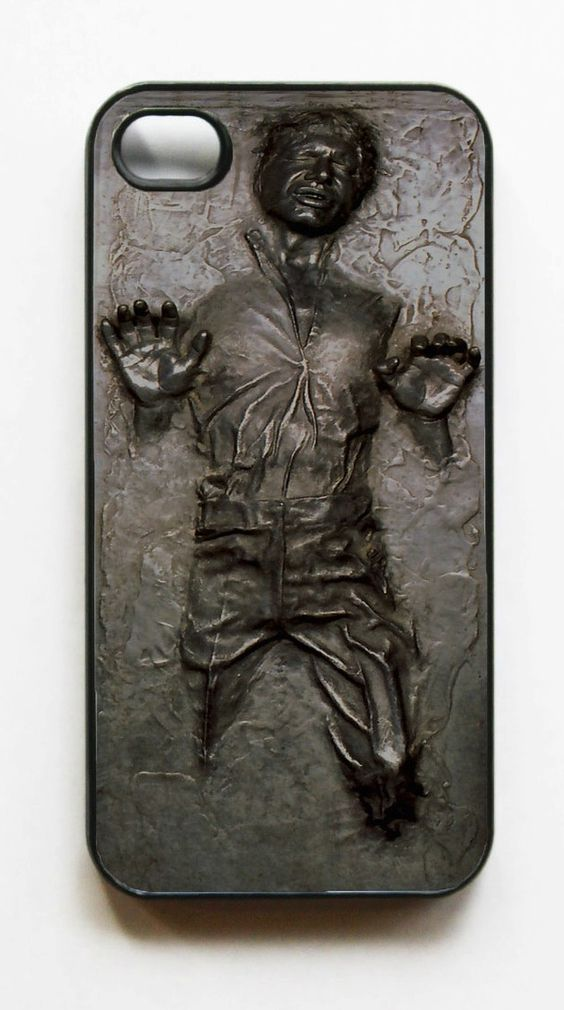 han solo iphone case - you just have no idea how much I want this. Want!