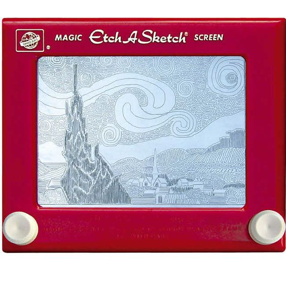 """""""Everything changes. It's like Etch A Sketch,"""" he said. """"You can shake it up and we start all over again."""""""