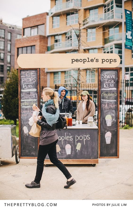 People's pops stand   Photo: Julie Lim Photography, Smorgasburg Market