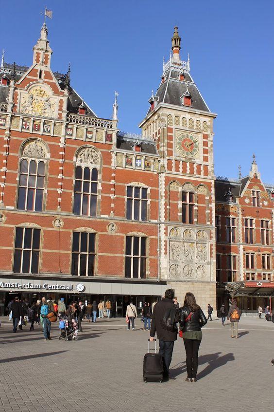 Diana's Cook Blog: Amsterdam, la gare centale