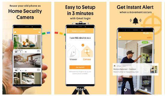 Cara Merubah Smartphone Android Jadi Cctv Untuk Memantau Siswa Di Kelas Dan Pengawas Bayi Dengan Aplikasi Alfred Home Securi Keamanan Rumah Smartphone Aplikasi