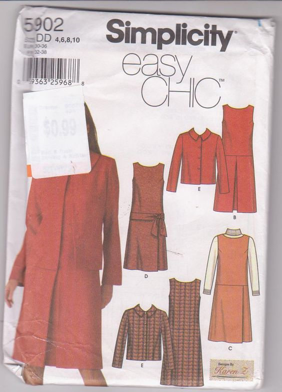 Sewing pattern for modest drop waist dress or by beththebooklady, $5.99