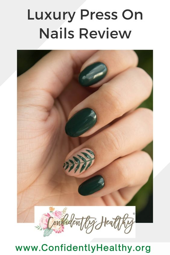 Are Kiss Press On Nails Worth It Confidently Healthy In 2020 Chic Nails Chic Nail Designs Green Nail Art