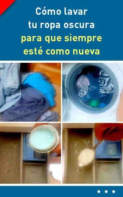 detergente casero para ropa negra