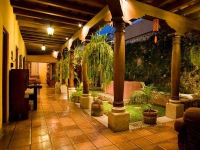 house with central courtyard antigua house rental