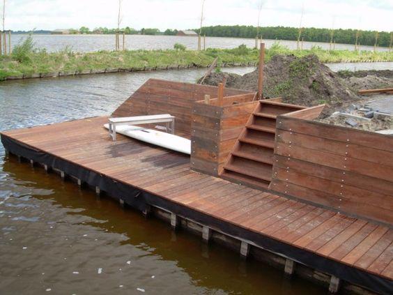 Steiger tuin ontwerp google zoeken water pinterest - Trap ontwerpen ...