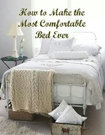 Making the Bed Comfortable