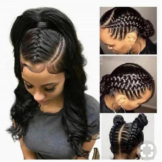 cornrows braided hairstyles