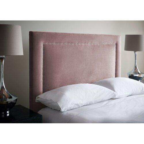 Pennington Upholstered Headboard Canora Grey Size Small Single Colour Heather Upholstered Headboard Upholstered Bed Frame Headboard