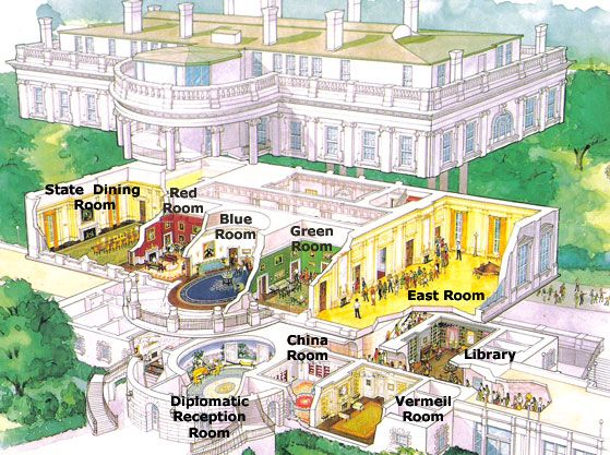 Virtual tour of the white house growing tall pinterest for Floor plan virtual tour