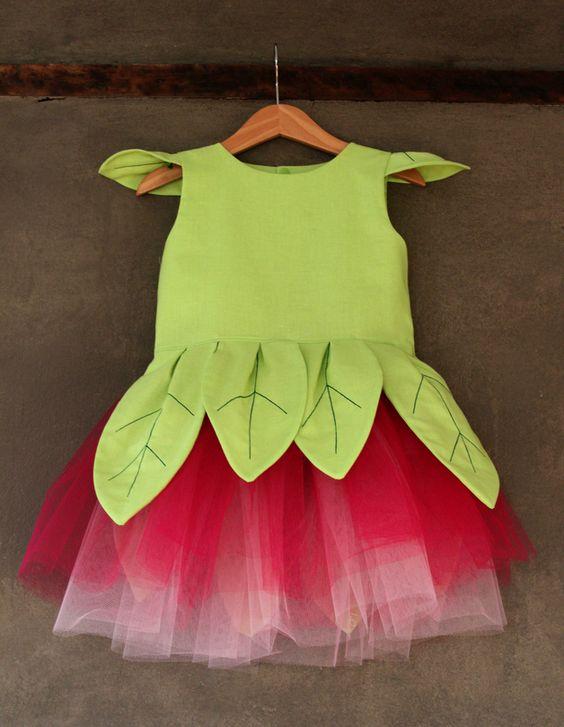 """Kostüme für Kinder - Elfenkostüm """"Tilla Tausendschön"""", Kinderkostüm,... - ein Designerstück von IdaElfe bei DaWanda"""