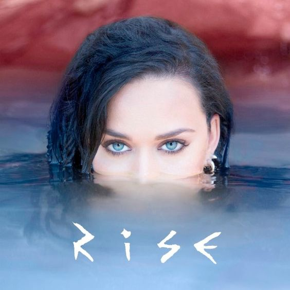 Katy Perry – Rise (single cover art)