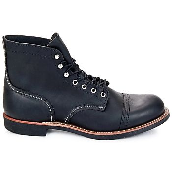 Red Wing makes more than just work boots, check out these black leather low boots that are full of style! #shoes #boots #mens #uk #fashion #black #leather #workboots #redwing