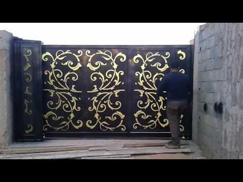 باب سلايد دوار للاماكن الضيقه Youtubedownload Pro Gate