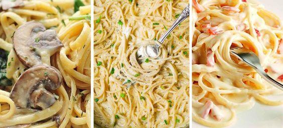 Estas recetas de espagueti te harán limpiar el plato. No sólo son fáciles de preparar sino completamente deliciosas. ¡Anímate a