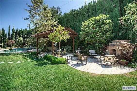 perfect backyard