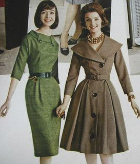 late 50s--- dont ya think the girl in the green on the left kinda looks like Lilly from How i met your mother!!! Or is it just me?!!