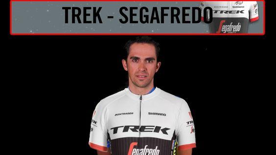 El Trek-Segafredo está orgulloso de confirmar que Alberto Contador, de 33 años, formará parte del equipo de cara a la próxima temporada. El ciclista pinteño, de sobra conocido por todos, ha ganado las tres Grandes Vueltas.