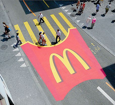 Image result for mcdonalds street art