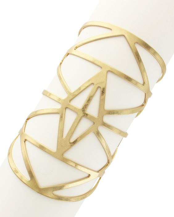 Spotted this Sparkling Sage 14K Plated Cuff on Rue La La. Shop (quickly!).