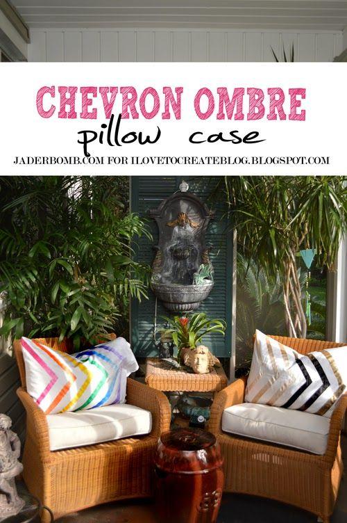 Chevron Ombre Pillow Case