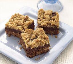 Healthy Chocolate-Oat Bars