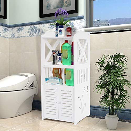 Lbbl Bathroom Cabinet Bathroom Storage Corner Floor Cabinet Free Standing Toilet Tissue St Corner Storage Cabinet Small Bathroom Storage Bathroom Storage Racks